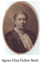How to Search Wales Genealogy Records featured by top professional genealogists, Price Genealogy: image of Agnes Eliza Pullen Nash