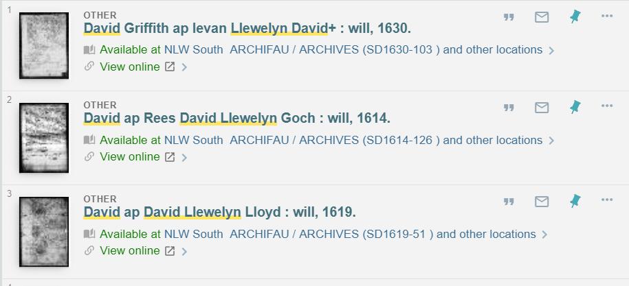Wales Genealogy Records by popular US professional genealogists, Price Genealogy: image of Welsh genealogy records.