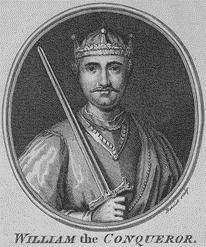 English Gentry by popular US professional genealogists, Price Genealogy: image of William the Conqueror.