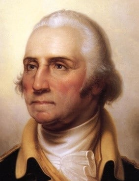Inspirational Father Quotes by popular US online genealogists, Price Genealogy: image of George Washington.
