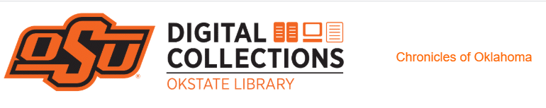 Oklahoma Genealogy by popular US online genealogists, Price Genealogy: digital image of the OKSTATE LIBRARY digital collections logo.