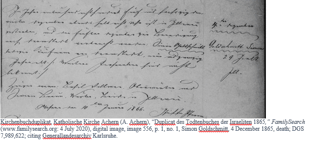 German Genealogy by popular US online genealogists: image of a church record.