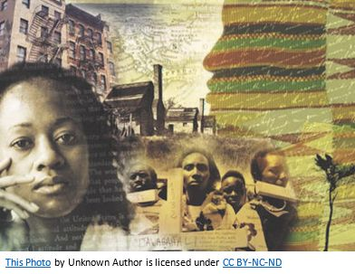 African American Genealogy by popular US online genealogists, Price Genealogy: collage image of African American people.