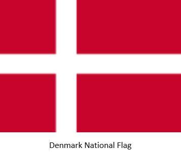 Danish Ancestry by popular US online genealogists, Price Genealogy: image of a Denmark National Flag.